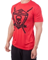 "Men's Extreme Rush ""Athlete Academy"" Performance Tee-Red"