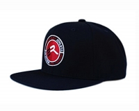 Extreme Rush Athlete Snapback Cap-Black/Red