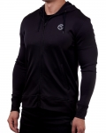 Men's ERA Fitted Performance Hoodie-Black