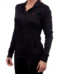 Women's ERA Fitted Performance Hoodie-Black
