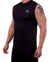 Men's ERA Signature Logo Performance Sleeveless-Black