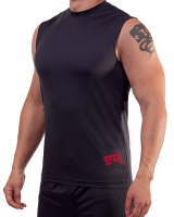 Men's ERA Logo Performance Sleeveless-Gray
