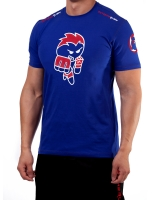 "Men's Extreme Rush ""Born To Fight"" Tee-Blue/Red"