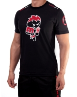 "Men's Extreme Rush ""Born To Fight"" Tee-Black/Red"