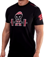 "Men's Extreme Rush ""Born To Lift"" Tee-Black/Red"