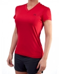 Women's ERA Performance V-Neck-Red