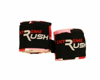 Extreme Rush Boxing Hand Wraps-Pink Camo