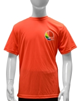 Kid's Armakiddo Performance Tee-Orange