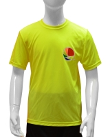 Kid's Armakiddo Performance Tee-Yellow