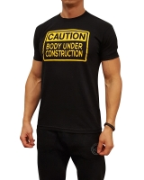 "Men's ERA ""Caution Body Under Construction"" Tee"