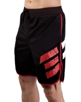 Men's ERA Logo Gym Short-Black/Red
