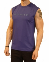Men's Extreme Rush Training Sleeveless-Blue/Grey Camo