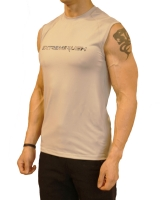 Men's Extreme Rush Training Sleeveless-Grey/Blue Camo