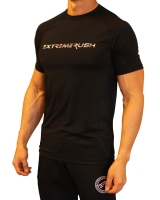 Men's Extreme Rush Training Tee-Black/Red Camo