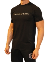Men's Extreme Rush Training Tee-Black/Grey Camo