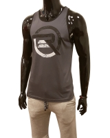 Men's ERA Logo Tank-Gray/Black
