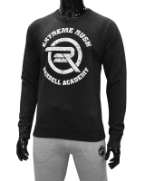 Men's ERA Barbell Academy Sweatshirt-Black