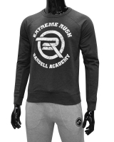 Men's ERA Barbell Academy Sweatshirt-Charcoal