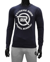 Men's ERA Barbell Academy Sweatshirt-Navy