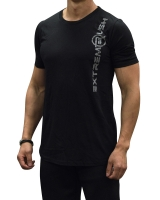 Men's Extreme Rush Long Tee-Black