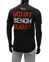 "Men's ERA ""Squat Bench Deadlift"" Tee-Black"