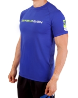 Men's Extreme Rush Training Tee-Blue
