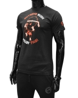 Men's Extreme Rush Muay Thai Tee-Black