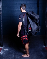 Extreme Rush Hybrid Duffle/Backpack-Black/Red/White