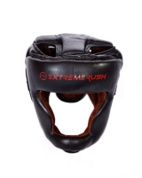 Extreme Rush Sparring Head Guard-Black