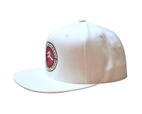 Extreme Rush Athlete Snapback Cap-White