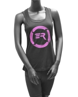 Women's ERA Signature Logo Tank-Black/Purple