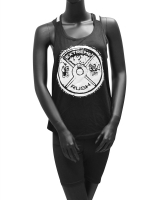 Women's ERA Weight Plate Mesh Tank-Black