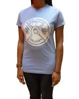 Women's ERA Weight Plate Tee-Blue