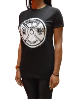 Women's ERA Weight Plate Tee-Black