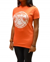 Women's ERA Weight Plate Tee-Orange