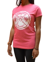 Women's ERA Weight Plate Tee-Pink