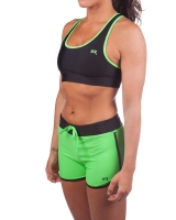 Women's Luxe Series Performance Running Short-Lime