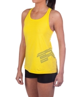 Women's ER Logo Tank-Yellow