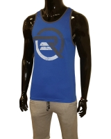 Men's ERA Logo Tank-Blue/Gray
