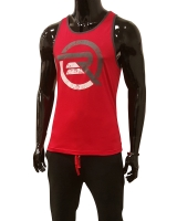Men's ERA Logo Tank-Red/Gray